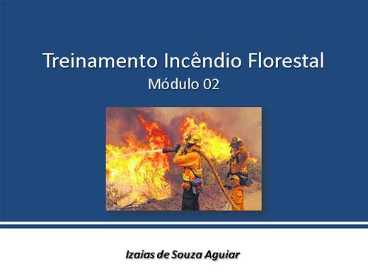 Curso Online de Treinamento de Combate a Incêndio Florestal - Módulo 02