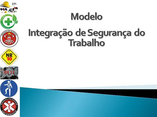 Curso Online de Modelo de Integração de Segurança do Trabalho