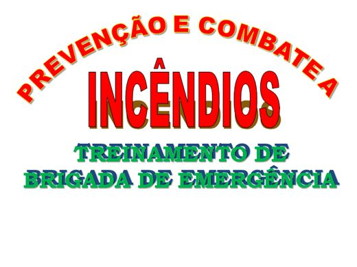 Curso Online de Treinamento de Brigada de Emergência e Prevenção Contra Incêndio