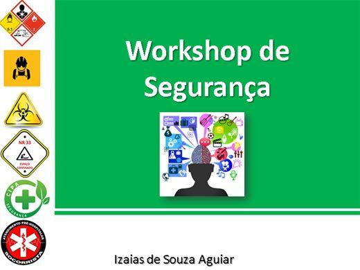 Curso Online de WORK SHOP SEGURANÇA DO TRABALHO E MEIO AMBIENTE