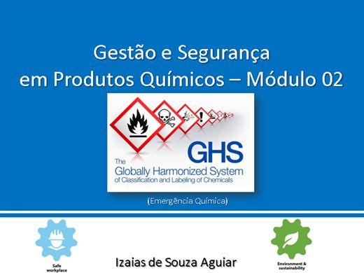 Curso Online de Segurança e Gestão em Emergência Química - Módulo 02
