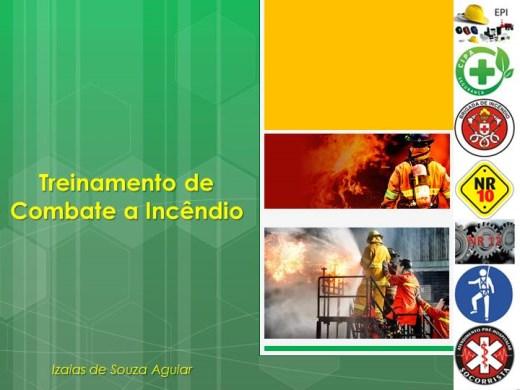 Curso Online de TREINAMENTO DE COMBATE A INCÊNDIO