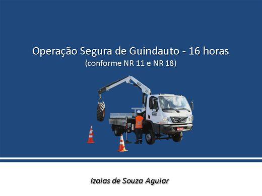 Curso Online de Operação Segura de Guindauto (Caminhão Tipo Munck) Completo - conforme NR11 e NR 18