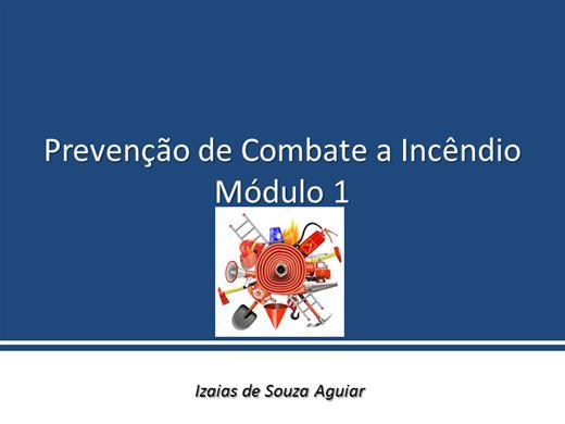 Curso Online de Prevenção de Incêndio - Módulo 1
