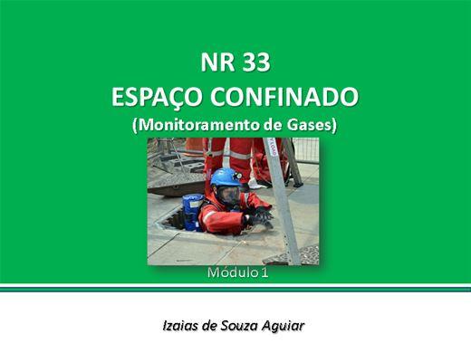 Curso Online de NR 33 - Segurança em Espaços Confinados - Monitoramento de Gases - Módulo 02