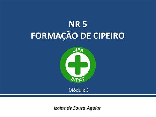 Curso Online de NR 5 - Cipeiros - Módulo 03