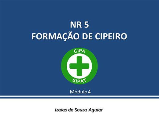 Curso Online de NR 5 - Cipeiros - Módulo 04