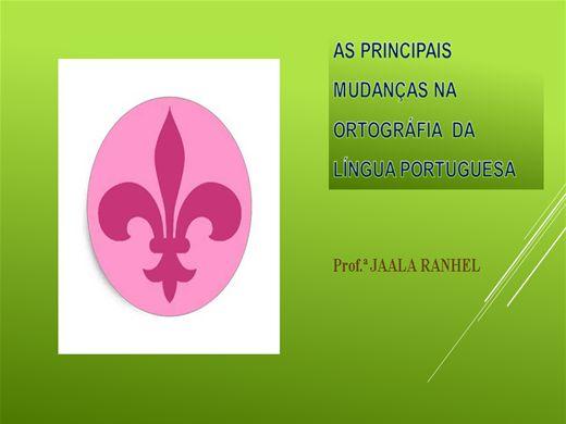 Curso Online de REFORMA ORTOGRÁFICA