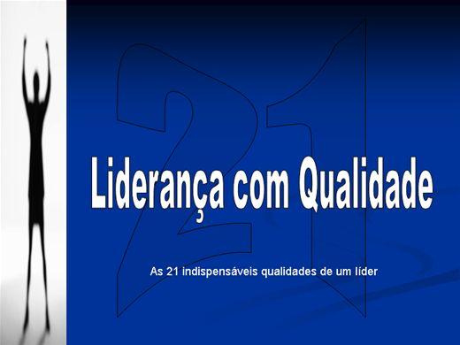 Curso Online de LIDERANÇA COM QUALIDADE