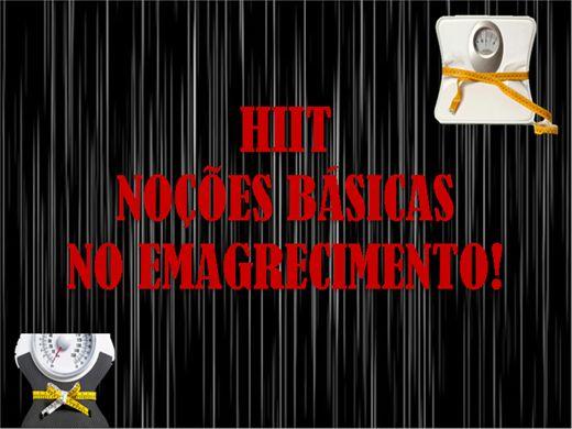 Curso Online de HIIT- Noções básicas no emagrecimento