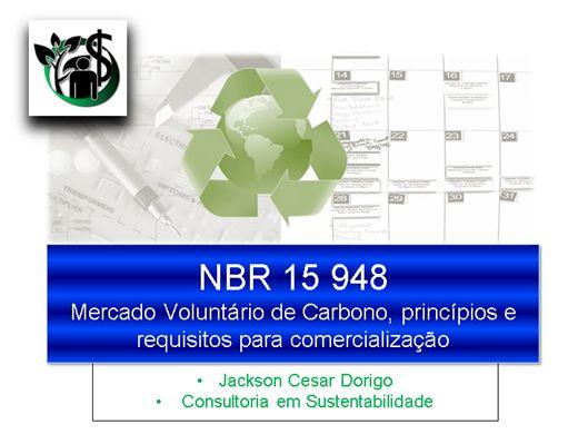 Curso Online de NBR ISO 15948