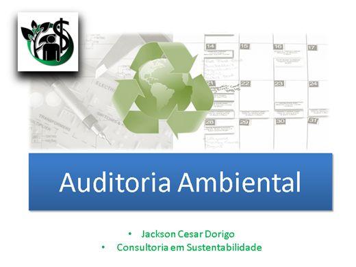 Curso Online de ISO 19011 Auditoria Ambiental
