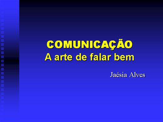 Curso Online de Comunicação a Artede Falar bem