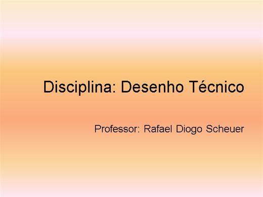 Curso Online de DESENHO TECNICO