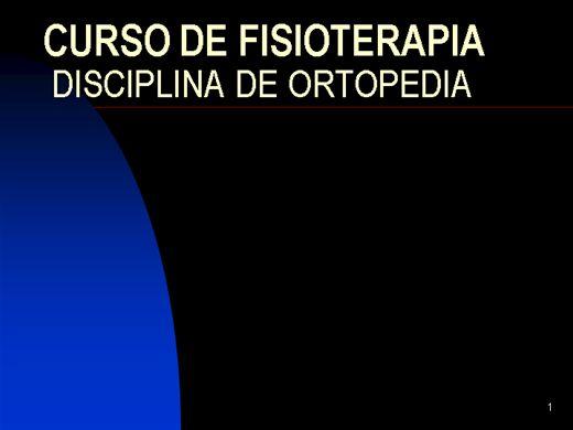 Curso Online de FISIOTERAPIA ALGIAS DA COLUNA