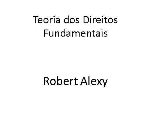 Curso Online de TÓPICOS DA TEORIA DOS DIREITOS FUNDAMENTAIS E JUÍZES LEGISLADORES