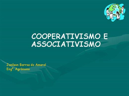 Curso Online de COOPERATIVISMO E ASSOCIATIVISMO