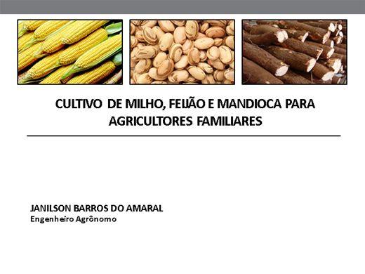 Curso Online de CULTIVO DE MILHO, FEIJÃO E MANDIOCA PARA AGRICULTORES FAMILIARES