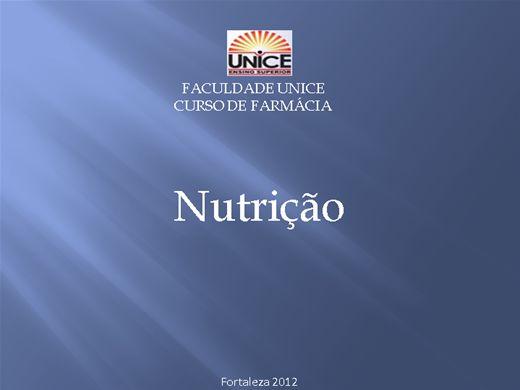 Curso Online de Nutricao