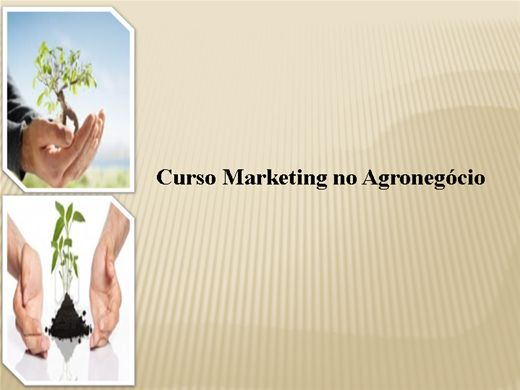 Curso Online de Marketing no Agronegócio