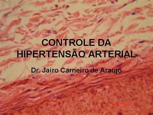 Curso Online de CONTROLE DA HIPERTENSÃO ARTERIAL