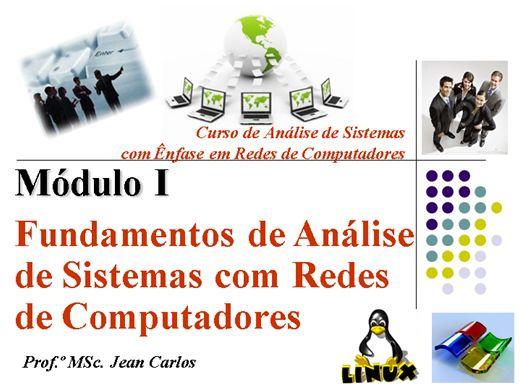 Curso Online de T01-Fundamentos de Análise de Sistemas com Redes de Computadores