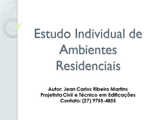 Curso Online de Estudo Individual de Ambientes Residenciais