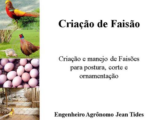 Curso Online de Criação de Faisão - Ornamentais e de Corte