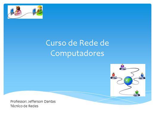 Curso Online de Rede de Computadores com Introdução a Manutenção de Micro