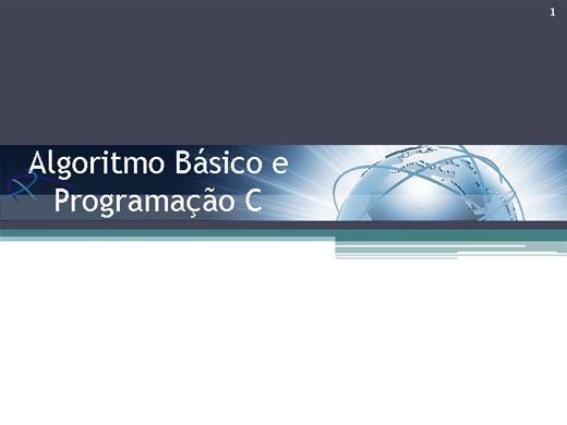 Curso Online de Algoritmo Básico e Programação C