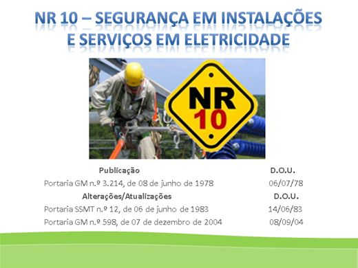 Curso Online de NR-10: Segurança em Instalações e Serviços em Eletricidade