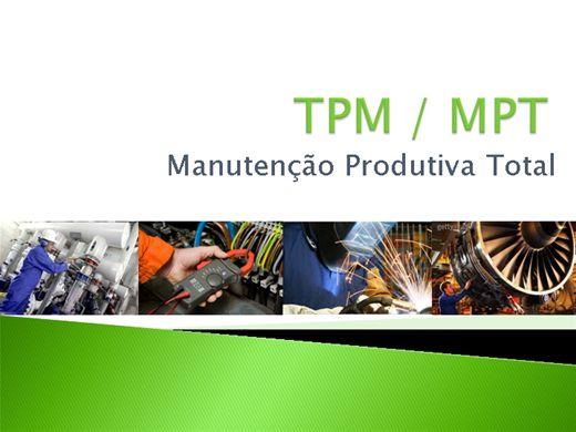 Curso Online de Manutenção Produtiva Total - TPM / MTP