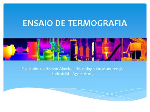 Curso Online de Ensaio de termografia