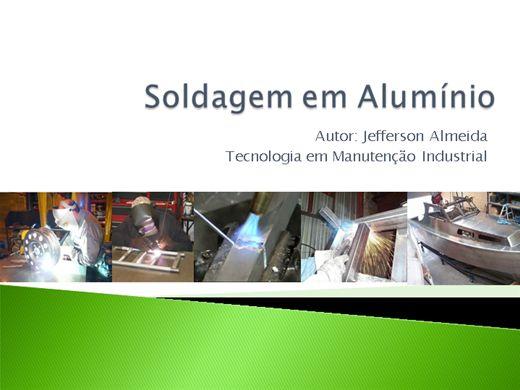 Curso Online de Soldagem em Alumínio