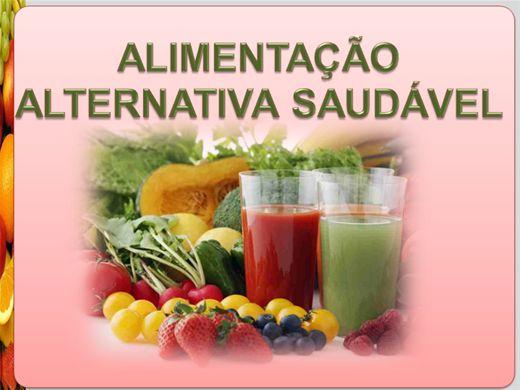 Curso Online de Alimentação Alternativa Saudável