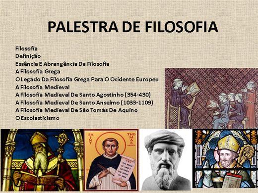 Curso Online de PALESTRA DE FILOSOFIA