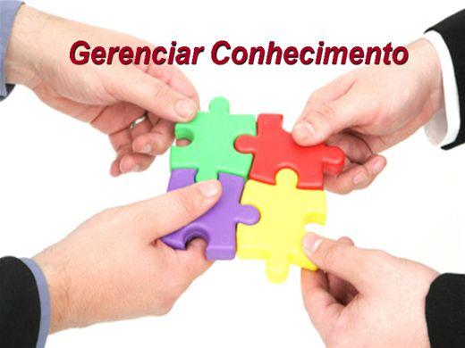 Curso Online de Gerenciar Conhecimento