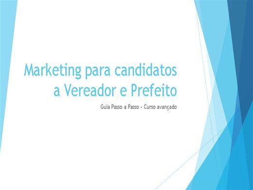 Curso Online de Como vencer nas Eleições - Marketing Politico para candidatos a Vereador e Prefeito