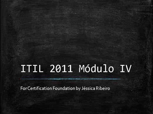 Curso Online de ITIL V3 Foundation (Operação de Serviço)
