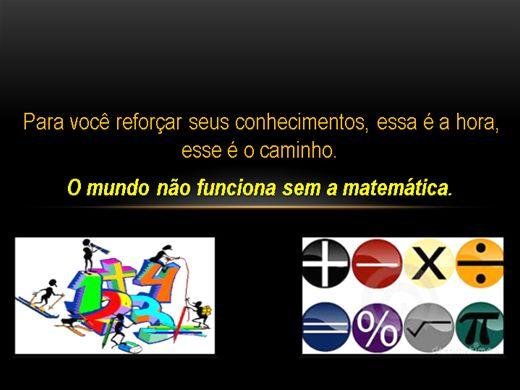 Curso Online de Reforço de Matemática