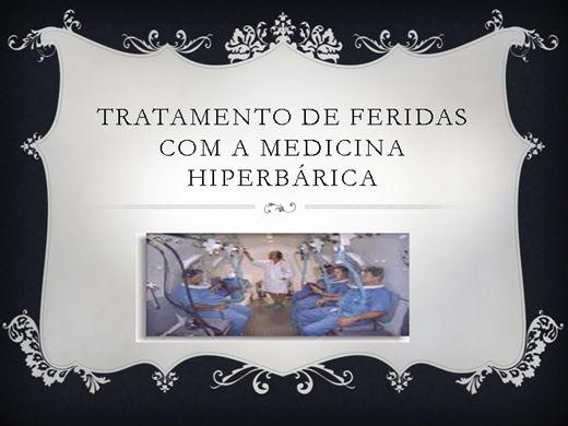 Curso Online de Tratamento de feridas com a medicina hiperbárica