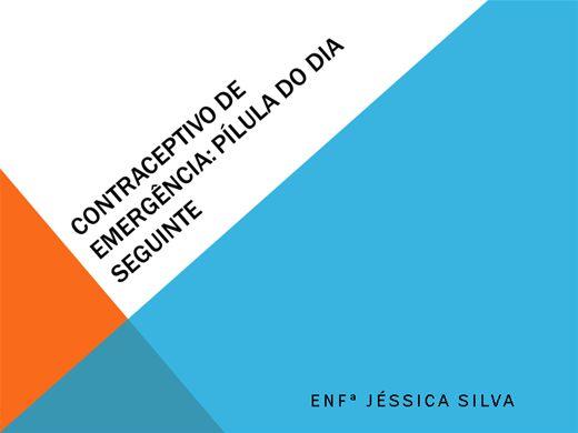 Curso Online de Contraceptivos de Emergência (Pílula do Dia Seguinte)
