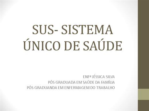 Curso Online de SUS- SISTEMA ÚNICO DE SAÚDE