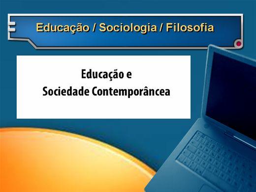 Curso Online de Educação na sociedade contemporânea