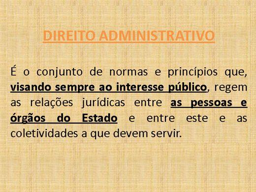 Curso Online de Princípios de Direito Administrativo