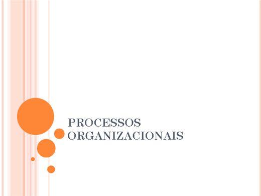 Curso Online de PROCESSOS ORGANIZACIONAIS
