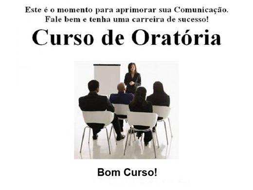 """Curso Online de """"ORATÓRIA"""""""
