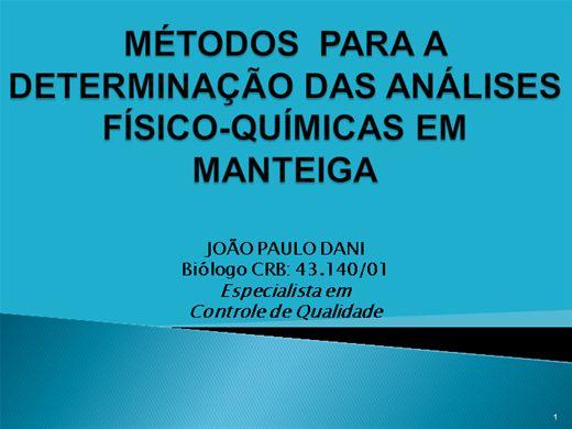 Curso Online de DETERMINAÇÃO DAS ANÁLISES-FÍSICO-QUÍMICAS EM MANTEIGA.pptx