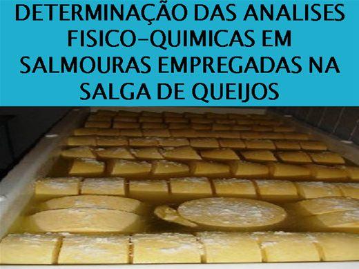 Curso Online de DETERMINAÇÃO DAS ANALISES FISICO-QUIMICAS EM SALMOURAS EMPREGADAS NA SALGA DE QUEIJOS