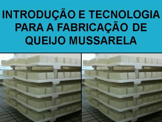 Curso Online de INTRODUÇÃO E TECNOLOGIA PARA A FABRICAÇÃO DE QUEIJO MUSSARELA